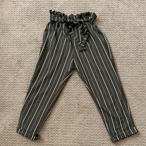 Olive pants- medium